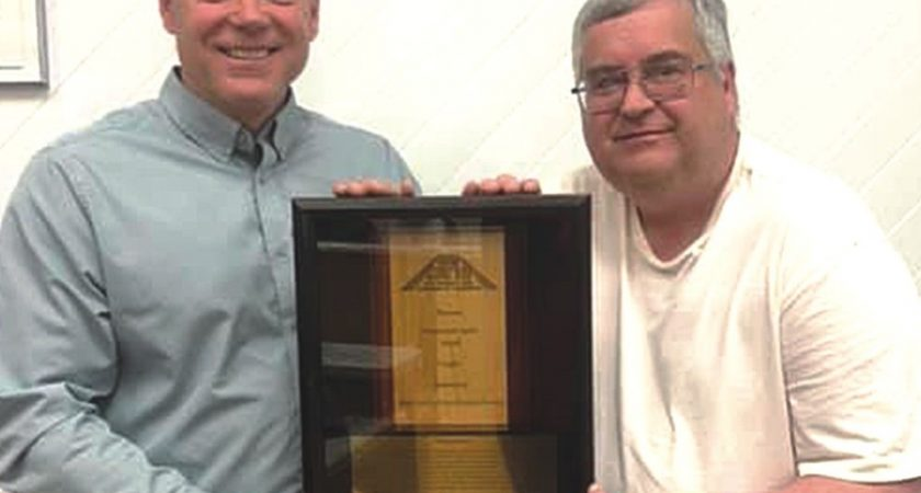 Beautification shares award with town