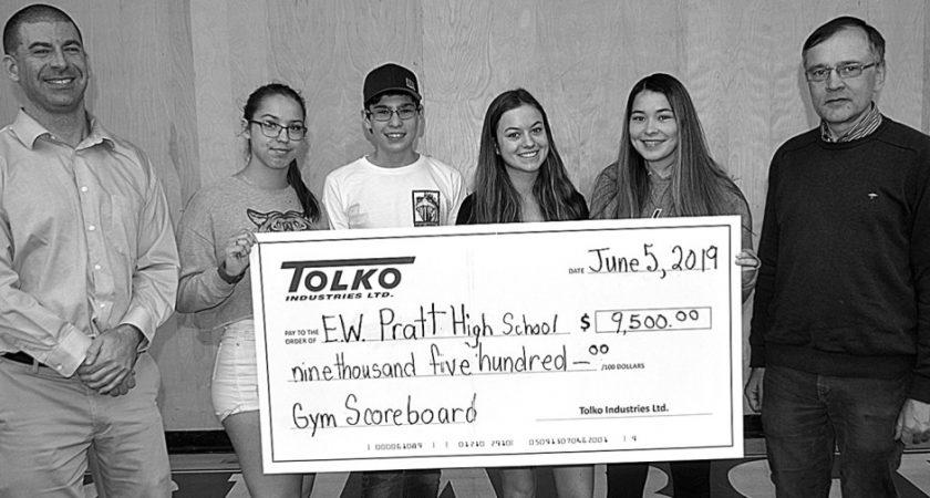 Pratt school scores big with Tolko