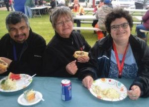 PICs – County serves at annual BBQ