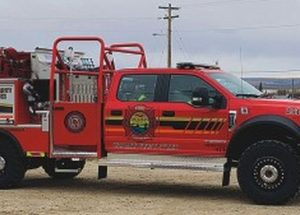 New fire-rescue truck arrives at Grouard