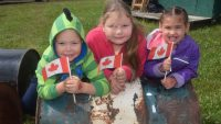 Celebrating Canada Day the old-fashioned way