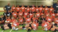 A successful volleyball camp in Slave Lake