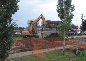 Groundwork on new college campus almost done