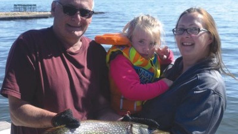 3-year-old girl reels in biggest fish