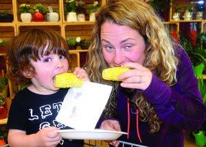 PIC – 'Corn'y kid