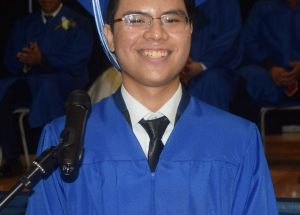 Valedictorian urges grads to create a fulfilling life