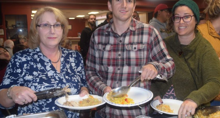 Supper fundraiser helps feed HP food bank