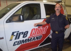 Cisaroski steps up ladder to HP fire chief