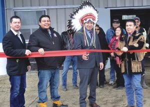 PIC – Whitefish opens community hall