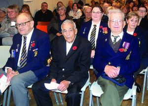Remember their sacrifice, audience reminded