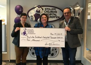 Big Lakes presents 'healthy' cheques
