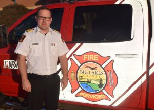 County welcomes Sturgeon as new fire chief