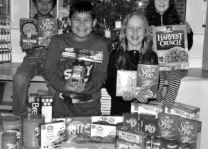 'Merry Christmas' ensured for many due to hamper drive