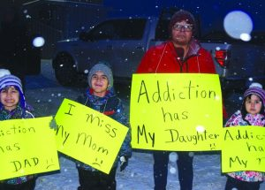 Driftpile walks to promote life of sobriety