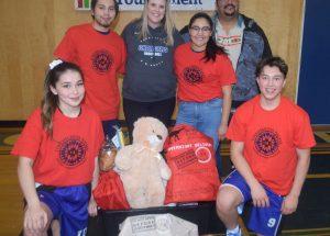 Alumni hoop games launch Christmas charity drive