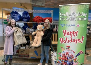 Women's shelter, Stollery score with Chargers