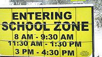School speed zones could be expanded