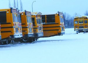 Excessive idling not good for buses or air