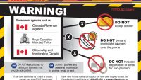 PIC – RCMP issue Bitcoin warning posters