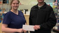 PIC – Bell receives Elks scholarship