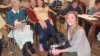 PICs – 'Ruff' day at Pleasantview