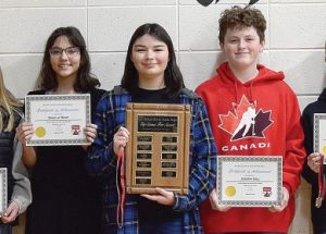 Top 10 PRJH Science Fair projects recognized