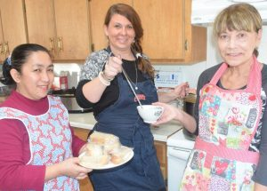 PICs – Soup is on during Lent at St. Mark's Anglican Church