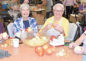 PICs – Many hands make light work at Pleasantview