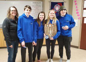 Pratt wins zone curling title