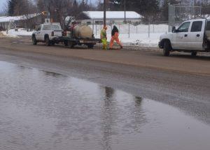 Crews preparing for annual spring melt