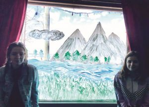 Joussard sisters remain positive