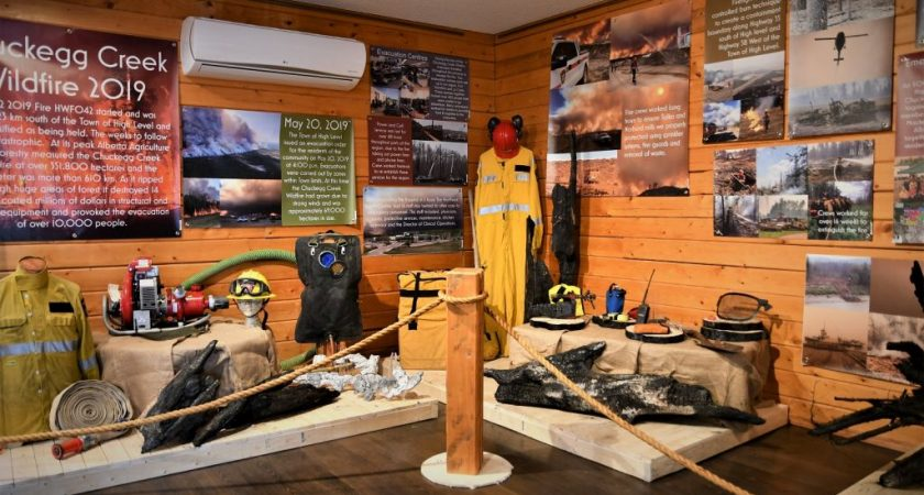 Exhibit marks anniversary of Chuckegg Creek fire