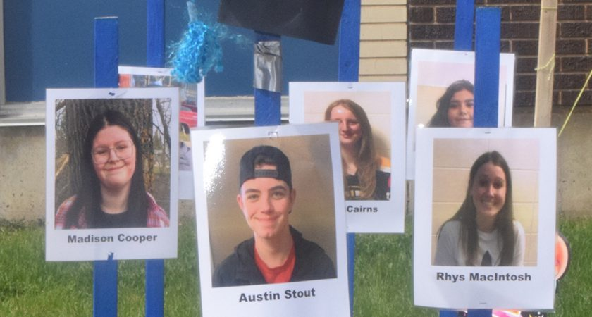 Staff sends special message to Grade 12 students